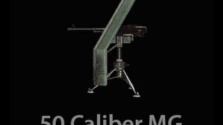 Battlefield 4 - 50 Caliber Stationary Machine Gun