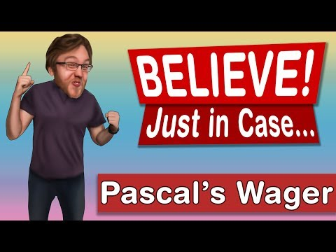 Why Not Believe in God Just In Case? (Pascal's Wager)