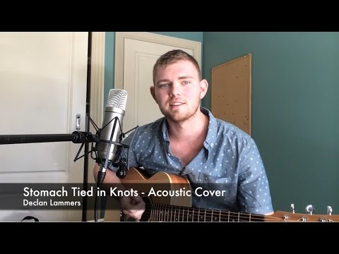 Stomach tied in Knots/ Sleeping With Sirens/ Acoustic Cover - Declan Lammers