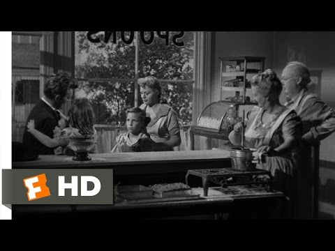 The Night of the Hunter (3/11) Movie CLIP - Love and Hate (1955) HD