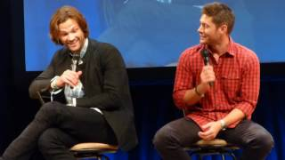 Minncon 2016 When Jared found out about Ackles twins