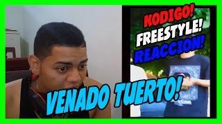 Kodigo - freestyle - venado tuerto - video reaccion!!!
