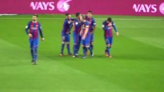 fc barcelona 3 vs athletic de bilbao 1 gol de falta messi
