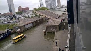 Bridge Lifting in Amsterdam