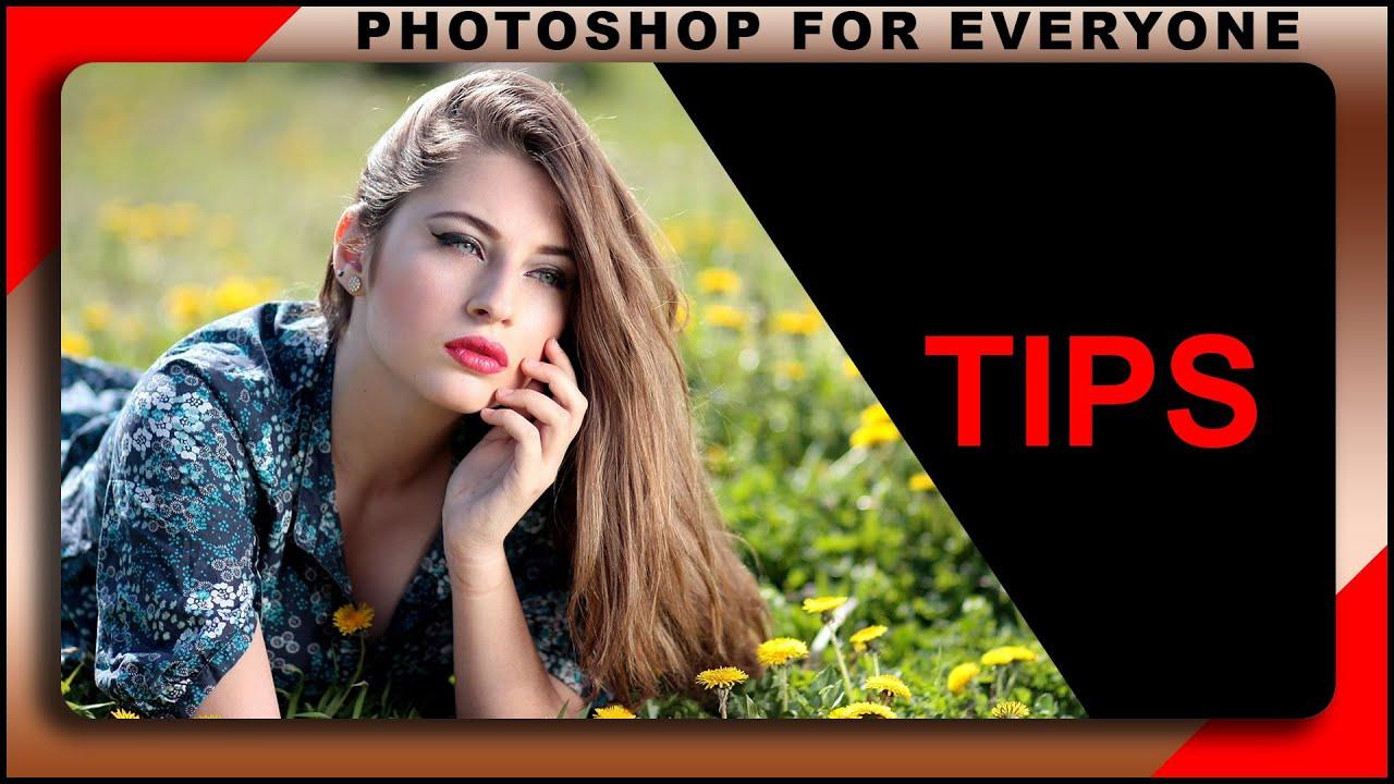 Cách dùng photoshop cs6: Vài lỗi người mới thường gặp.
