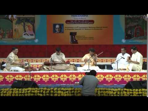 2014 - Jugalbandhi by N Ravikiran (Chitraveena) & Dr. Mysore Manjunath (Violin) - Part One