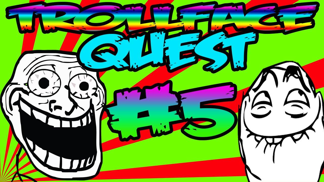 TROLLFACE QUEST 5 - YouTube