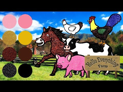 Nama Dan Suara Hewan Ternak - Anak-anak Belajar Hewan Untuk Anak-anak