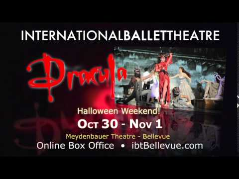 International Ballet Theatre present DRACULA! | 2015