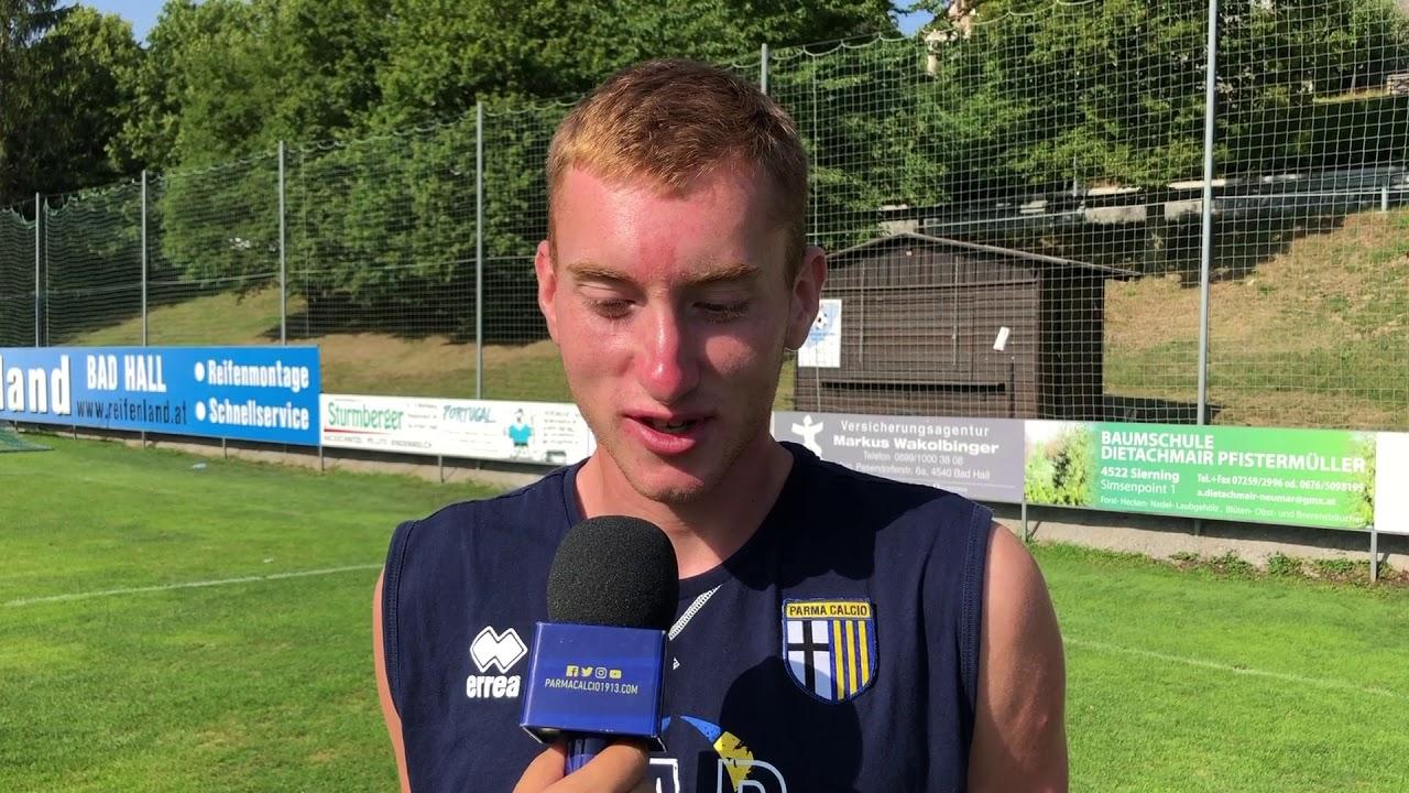 """Dejan Kulusevski: """"Qui a Parma mi sento il benvenuto"""" - YouTube"""