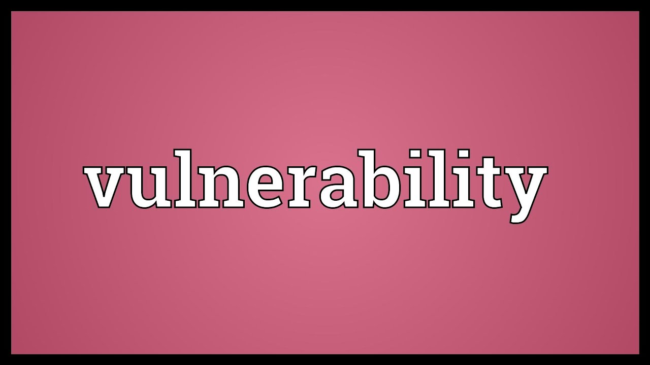 Meaning of vulnerable in marathi