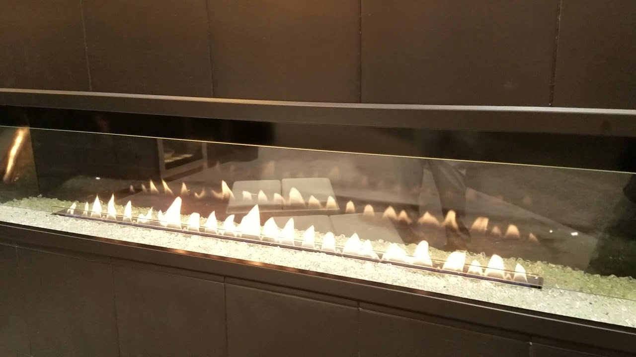 Boulevard Vent Free Gas Fireplace Burn Video