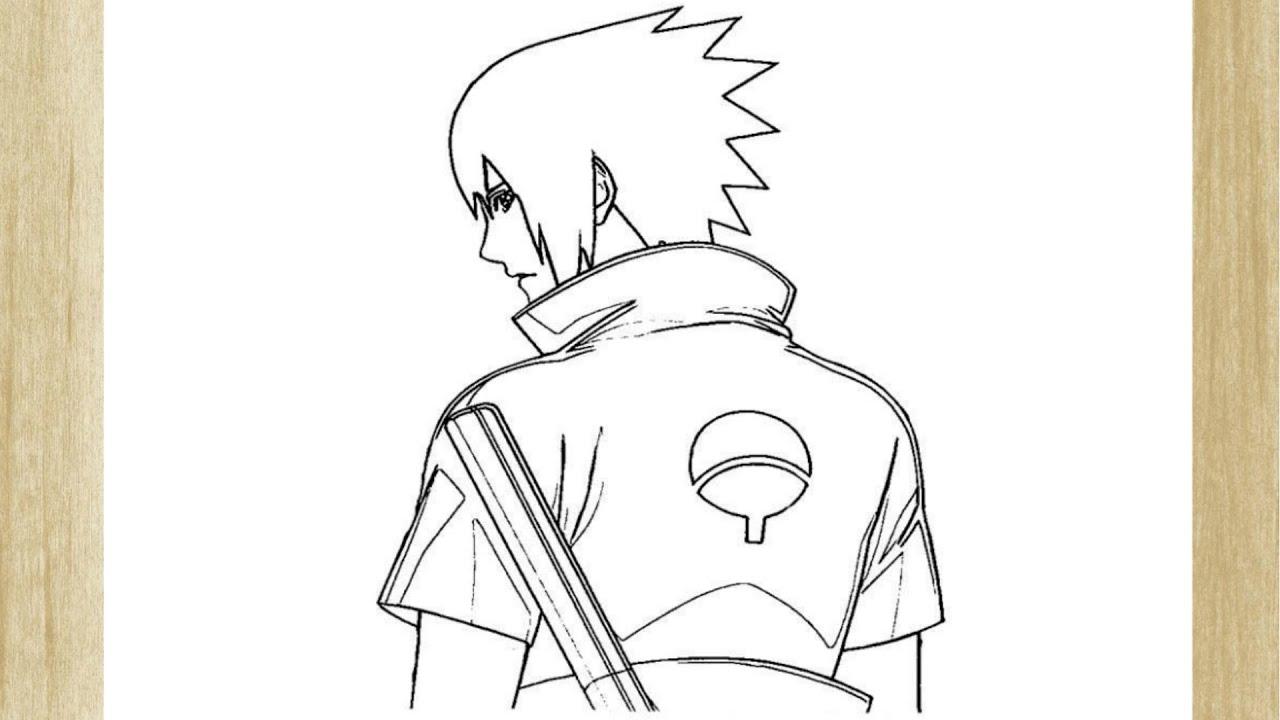 Como Desenhar O Sasuke Uchiha How To Draw Sasuke Uchiha Youtube