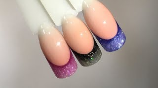 Дизайн ногтей: Декоративный френч
