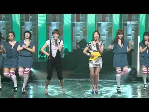 Davichi - My Man, 다비치 - 마이 맨, Music Core 20090411