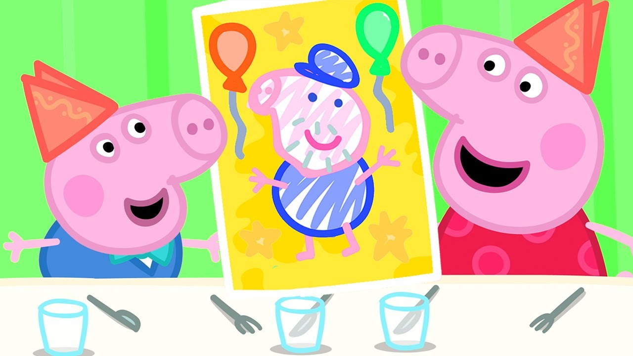 Peppa Pig Official Channel | It's Grandpa Pig's Birthday! | Peppa Pig Father's Day Special