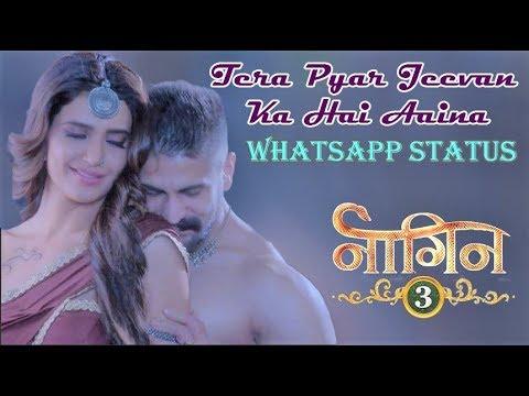 Naagin 3 | Whatsapp Status | Tera Pyar Jivan Ka Hai Aaina Song | Title Song