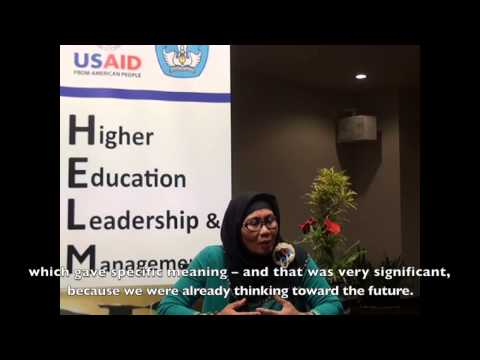 Dra. Hanifah Aidil Fitri – Head of Planning, General Administration Bureau  UIN Sultan Syarif Kasim