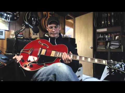 Ibanez Artcore AFS75 Hollow Body Electric Guitar Sampler