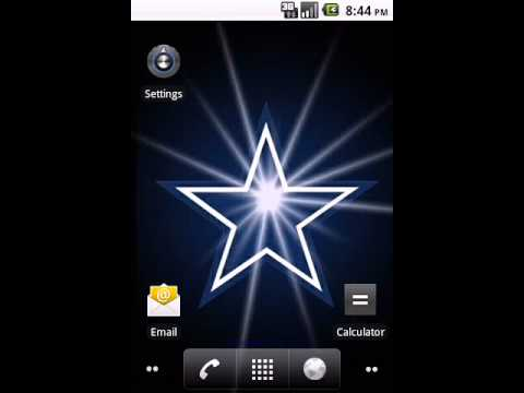 Dallas Cowboys Live Wallpaper By Commentbug Com Youtube