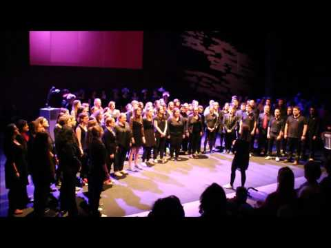 Evening Rise, spirit comes - ACDJ (Attention chorale de Jeunes) & Waz'em en choeur