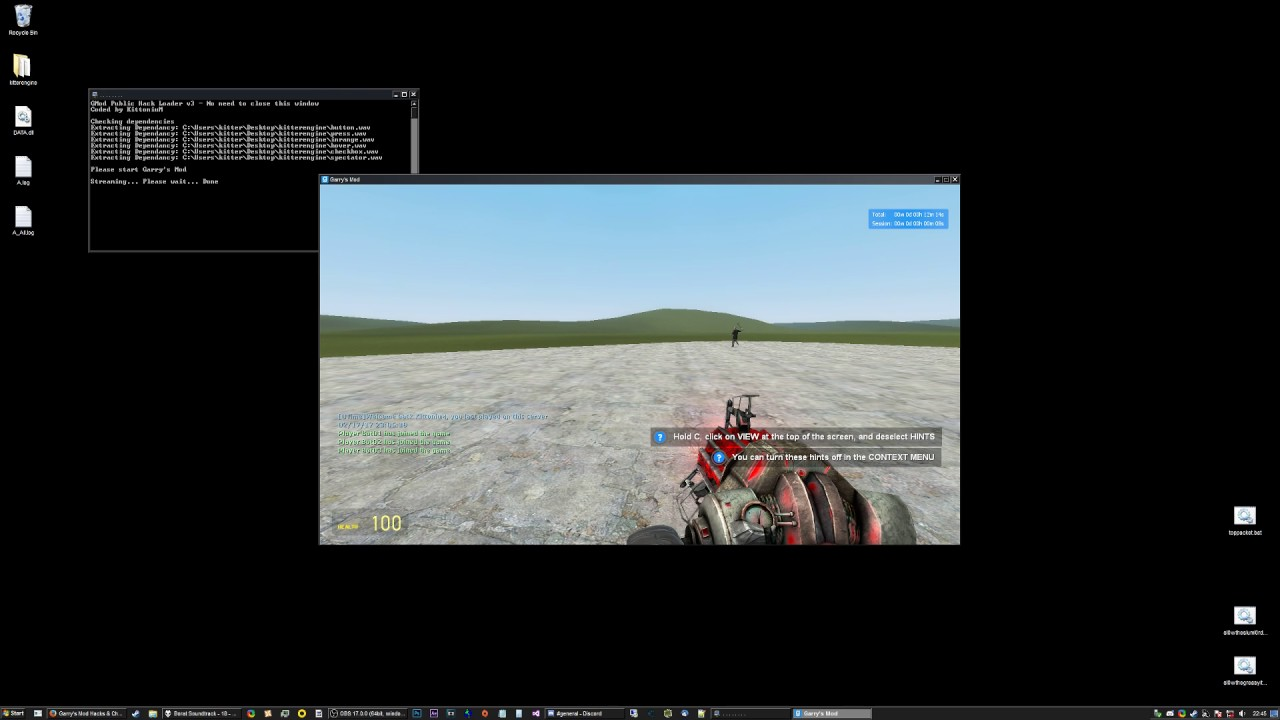 MPGH How to use GMod Public C++ Hack
