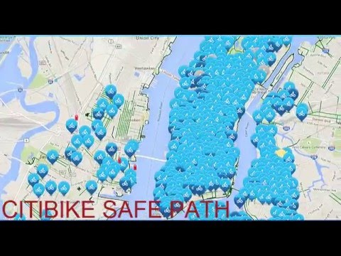 NYC Citi bike SAFE WAY  New York City citibike  Penn station to 55th and back. Commuting