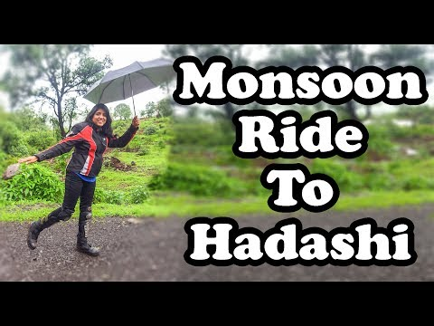 || Monsoon Ride To Hadshi || Breakfast Ride || Unknown Place || Bike My Soul