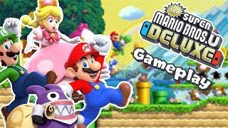 Nintendo Switch-Gameplay: New Super Mario Bros. U Deluxe