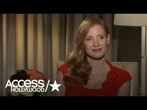Jessica Chastain On Why 'House Of Cards' Should Continue With Robin Wright   Access Hollywood
