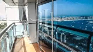 Full Sea Views From this 2BR in Princess Tower 36th FLOOR FOR RENT