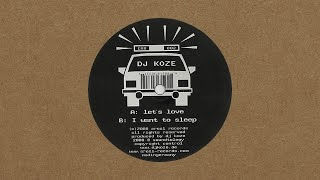 DJ Koze - I Want To Sleep thumbnail
