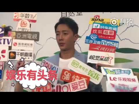 180727 Hangeng Chando charity event in Shanghai interview