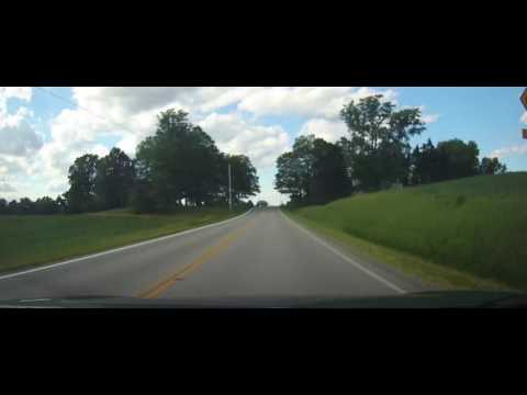 Driving around Erie County, Ohio to Lake Erie
