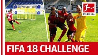 An Accurate Goalkeeper - EA SPORTS FIFA 18 Bundesliga Free Kick Challenge - SC Freiburg thumbnail