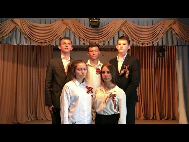 Изображение предпросмотра прочтения – «Лингвистическая гимназия 8Г Ульяновск» читает произведение «У славной могилы» А.Т.Твардовского