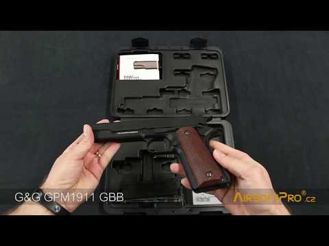 G&G GPM1911 Airsoft gas blowback pistol unboxing