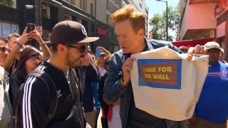Conan goes to Mexico to raise wall funds