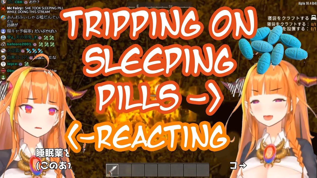 Kiryu Coco Streams while Tripping on Sleeping Pills [ENG]