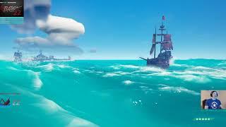 5 Galleon WAR - Skullfort SEA OF THIEVES