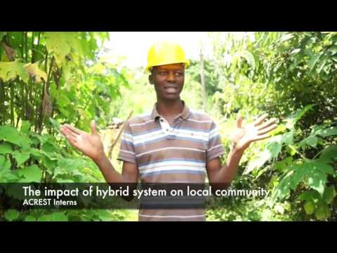 Purdue Hybrid Energy System team 2015 Cameroon