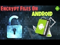 How to Encrypt & Decrpyt data on Android[2017]