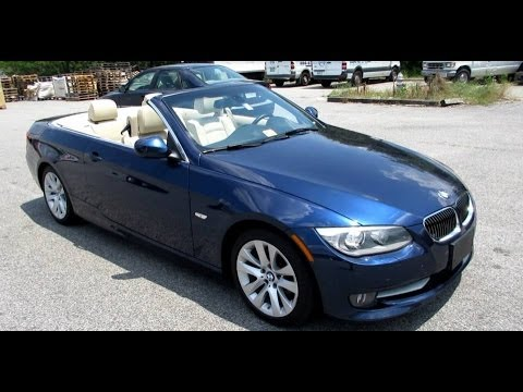 BMW I Convertible Walkaround Start Up Tour And Overview - Bmw 328i convertible