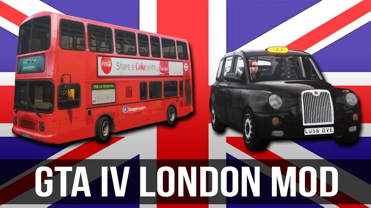 GTA IV London Mini Mod Release YouTube - Gta 6 london map