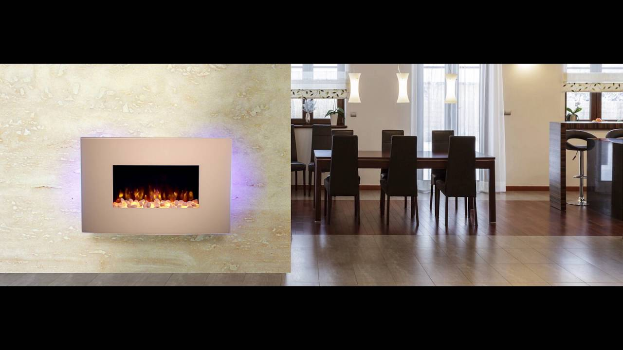 endeavour fires and fireplaces egton white wall mounted electric