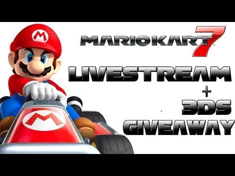 Mario Kart 7 - Livestream 3DS and MK7 Subscriber Appreciation Giveaway!