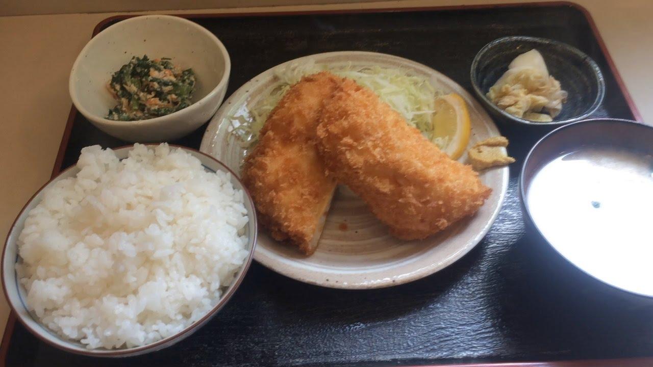 お米屋さんがやっている定食屋ではんぺんフライ定食(板橋本町 ...