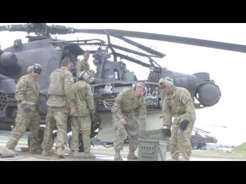 12th Combat Aviation Brigade at the 7th Army Training Command