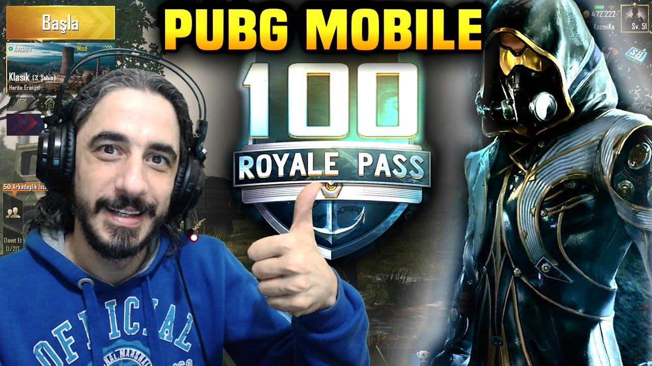 ROYALE PASS 100 YAPTIM !! - PUBG Mobile ( 8. SEZON )