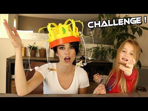 CHALLENGE : Le Roi Des Gourmands ! De la nourriture autour de la tête ! Miam !
